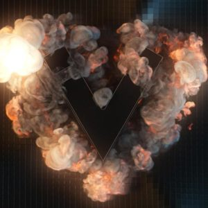 xparticles logo explosion